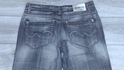不穿的旧牛仔裤,把口袋剪下来,放在家里还能这样用,太聪明了