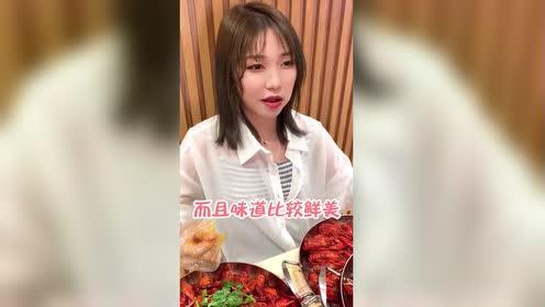 龙虾啤酒节现场挑战小龙虾!!
