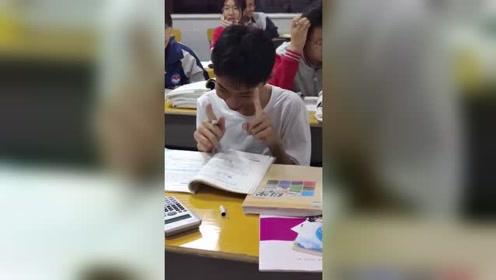 学霸数学考了119,全班第一,却如此娇羞!
