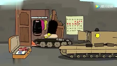 坦克世界: 山穷水尽拿行李箱当炮弹 战果还颇丰!