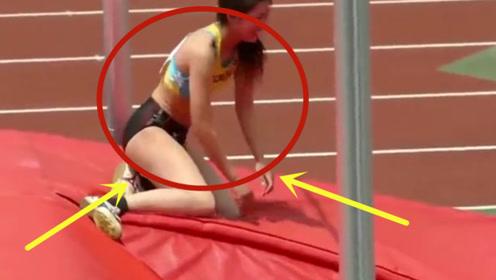 日本最美运动员失误,好身材一览无余,网友:被惊艳到了!