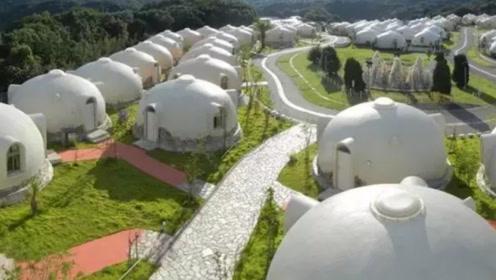 日本人脑洞大开,发明抗震房屋,号称能抗7级地震,形状让人脸红!