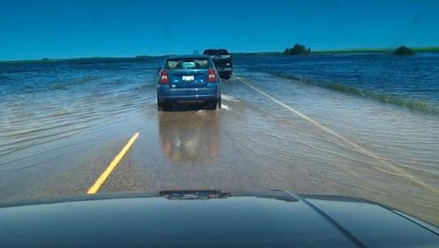 法国最危险的公路,全程不限速,走的慢了会有危险!