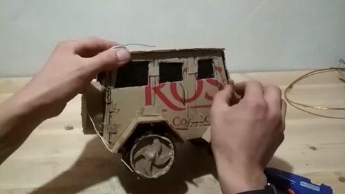 玩具越野车制作!