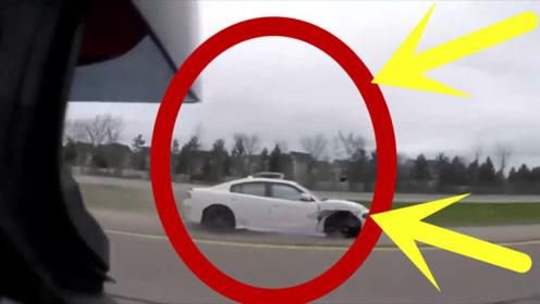 豪车司机就像过街老鼠被警察一路狂追,监控还原事实真相!