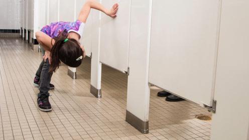 为何女厕所下方,都要留一道缝隙?美女害羞说出原因!