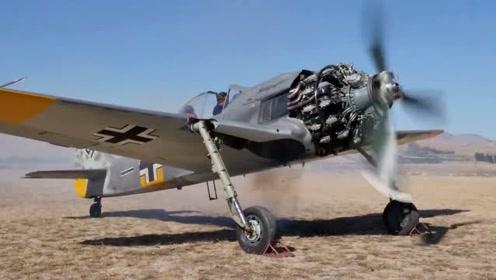 启动上个世纪的王牌战斗机FW190,这动力真是没得说!赞!