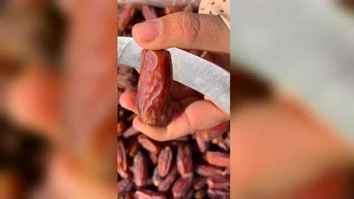 沙特的大椰枣,喜欢甜食的不要错过了!