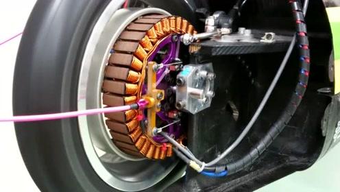 这种电动车安装的电机,咱们好像早都有了吧