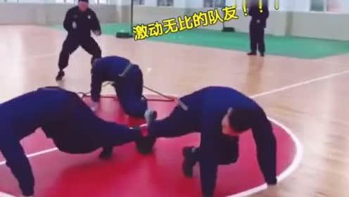 消防战士训练:是时候展现洪荒之力了!