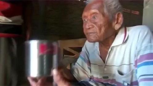 世界最长寿老人,孤独送走七代子孙,无奈选择绝食而死
