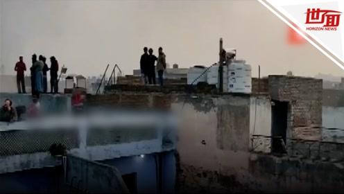 印度新德里工厂大火已致43死 恐有更多人仍被困