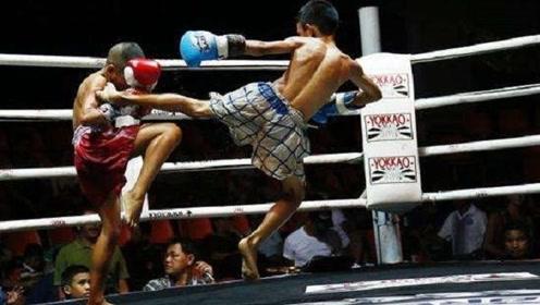 泰拳新希望,一群孩子苦练肘法空击