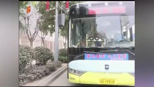 男子乘公交车坐过站!要求停车被拒后竟抢夺方向盘!终被拘留!