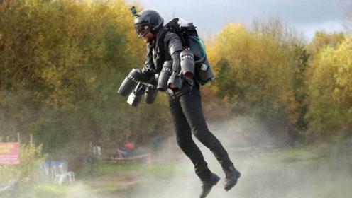 喷气背包的3个超强应用,挑战极速的开挂神器
