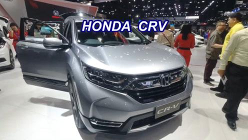 2020款本田CRV和本田HRV同台亮相,比一比看差别有多大
