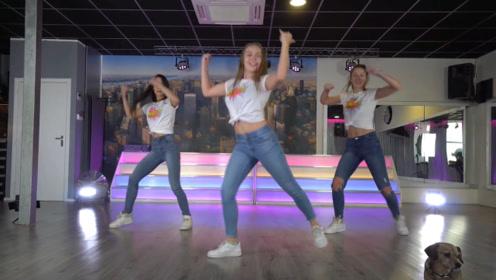 小姐姐这支健身舞蹈俏皮又可爱,适合娇小的妹子们跳!