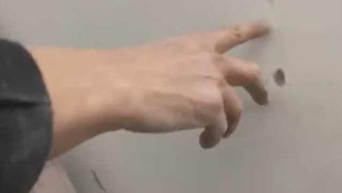 未交付新房墙壁手指能抠洞?回应:已要求开发商整改