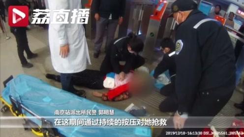 女子赶火车赶出心脏病 120抢救十分钟才救回
