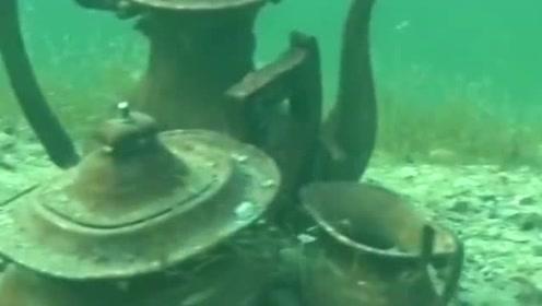 海底发现这么多宝物,为什么没有人来这里寻宝,一次就能让你发财!