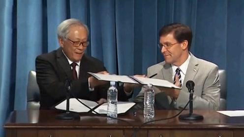 新加坡和美国签下重大军事协议 美军最受益