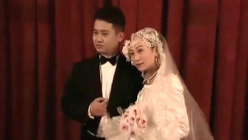 文艺复古新娘的婚纱照造型,都具备这些元素
