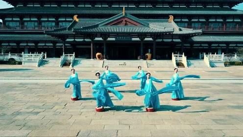 唐代惊鸿水袖舞,6位妙龄女子舞出长安城的气势!