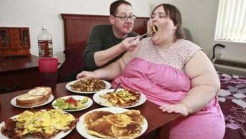 世界最胖女人体重超1吨,丈夫:你随便吃,我养你到天荒地老