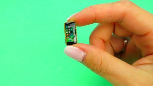 微世界DIY:微型手机和硅胶套