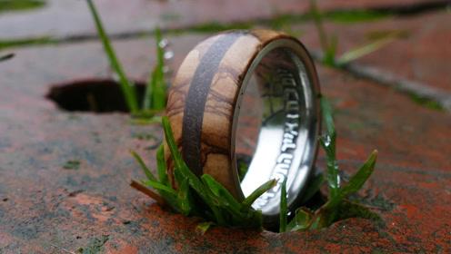 这可不是一枚普通的戒指,看制作过程你就明白了,佩服!