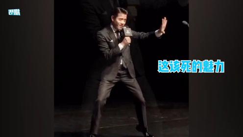 天王郭富城魔性表演对你爱不完,现场清唱,经典舞蹈动作勾起回忆