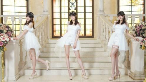 一首很柔很美的歌,穿着白色礼服跳起来有一种花嫁的感觉!