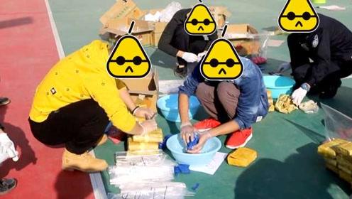 摊上大事了!大货司机跨境运香蕉,民警5小时搜出114公斤毒品
