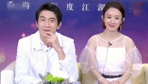 赵丽颖和林更新撒娇,小骨好萌呀