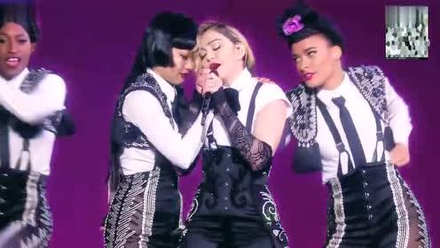 麦当娜现场演绎荷东金曲,唤起多少青春记忆
