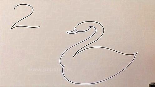 四种方法,巧用画画教会孩子认识数字123