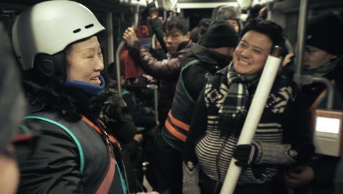 北京最火夜班车,凌晨两点人满为患,原因让人泪目
