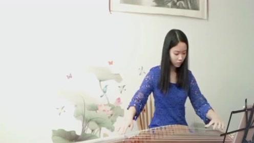 美女古筝弹奏《流星雨》 经典歌曲!满满的回忆!