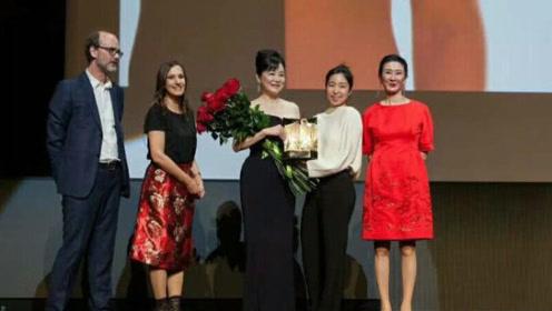 林青霞获封远东电影节终身成就奖,64岁依然女神