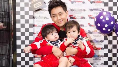 林志颖双胞胎儿子上热搜  这一家五口的幸福让人超羡慕