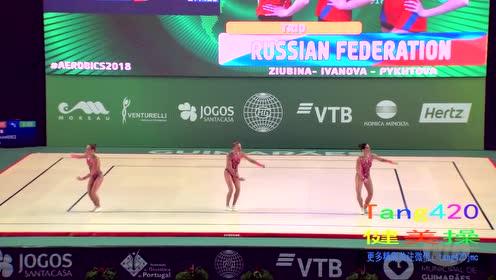 15届世锦赛  俄罗斯三人 预赛