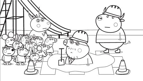 幼儿园游戏总动员简笔画 幼儿园游戏活动简笔画图片