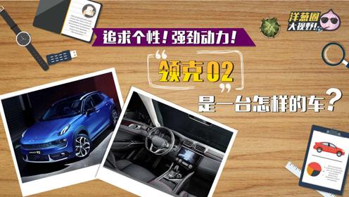 追求个性!强劲动力!领克02是怎样的一台车?