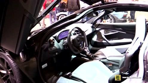 2018 迈凯伦McLaren 720S,打开车门一刻,还要啥兰博基尼大牛?