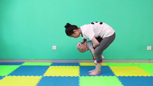 偶尔对孩子做这些锻炼,有助于加强他对时空的感觉,长知识了!