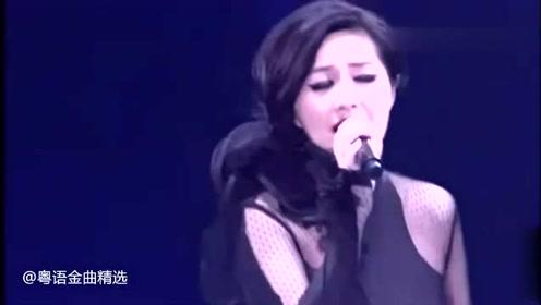 杨千嬅挺着大肚子演唱《勇》希望每个女孩的勇都不被辜负