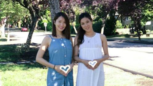 李亚男宣布怀孕后首晒照 与钟嘉欣合影孕肚明显