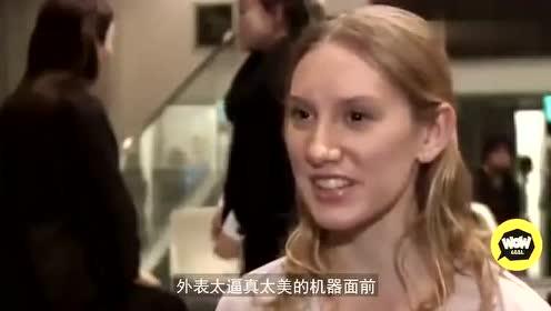 日本美女机器人,能做65个面部表情,内部结构多复杂?