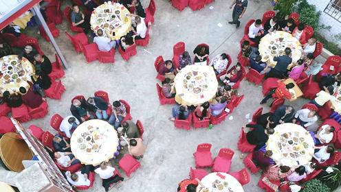 四川农村大厨做坝坝宴,精心烹制传统九大碗,让人垂涎三尺
