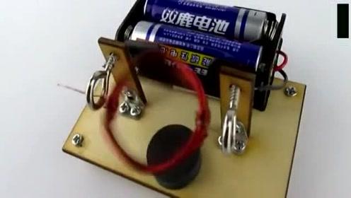 动手达人:科技小制作, 简易电机做法
